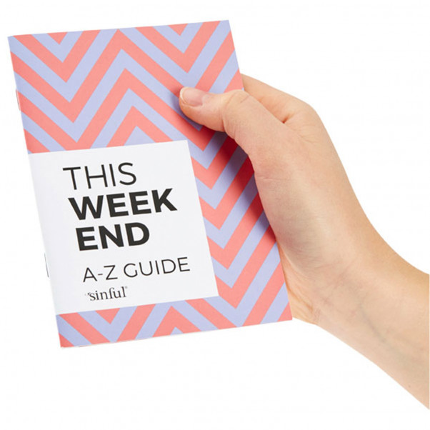 Sinful This Weekend Seksilelupakkaus ja A-Z Opas  4