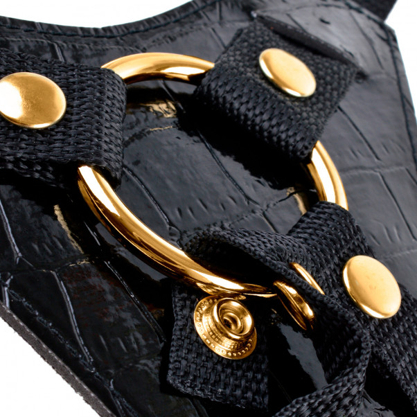 Fetish Fantasy Gold Designer Strap-on Setti 18 cm