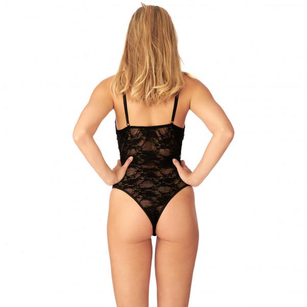 Nortie Liv Haaraton Pitsinen Body tuote mallin yllä 3