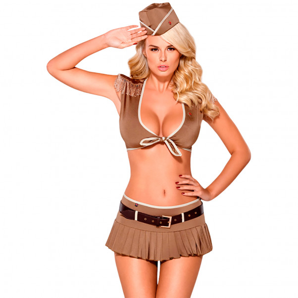 Obsessive Sexy Soldier Sotilaallinen Rooliasu  1