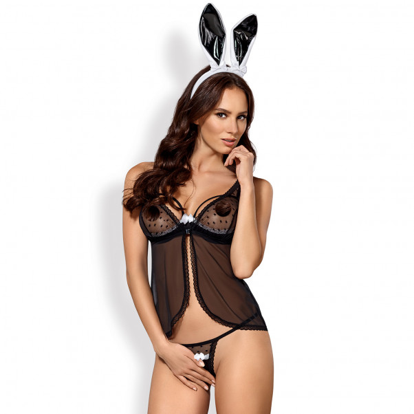 Obsessive Black Bunny Rooliasu  1