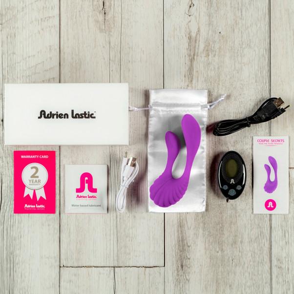Adrien Lastic Couple Secrets Kauko-ohjattava Tuplavibraattori  4