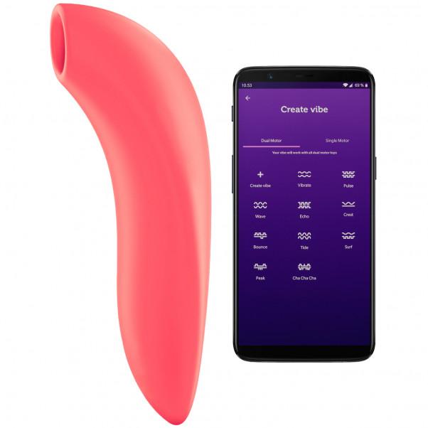 We-Vibe Melt Sovelluksella Ohjattava Klitorisstimulaattori tuote ja sovellus 1