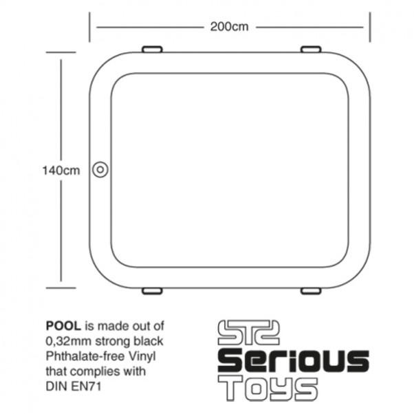 PlayPool-alusta kosteisiin leikkeihin