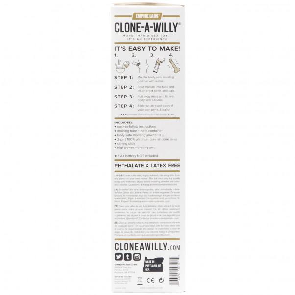 Clone-a-Willy Plus Balls kuva tuotepakkauksesta 91