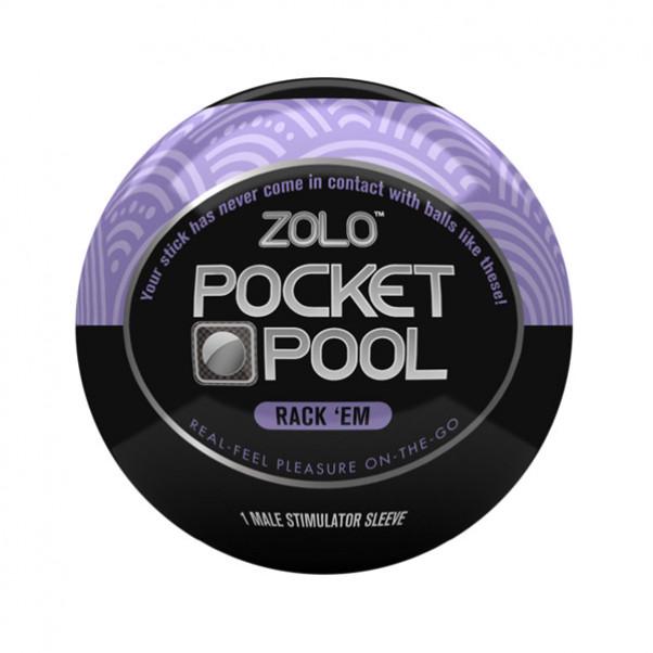 Zolo Pocket Pool Rack Em Onani Håndjob