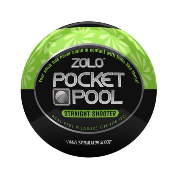 Zolo Pocket Pool Straight Shooter Itsetyydytin  1